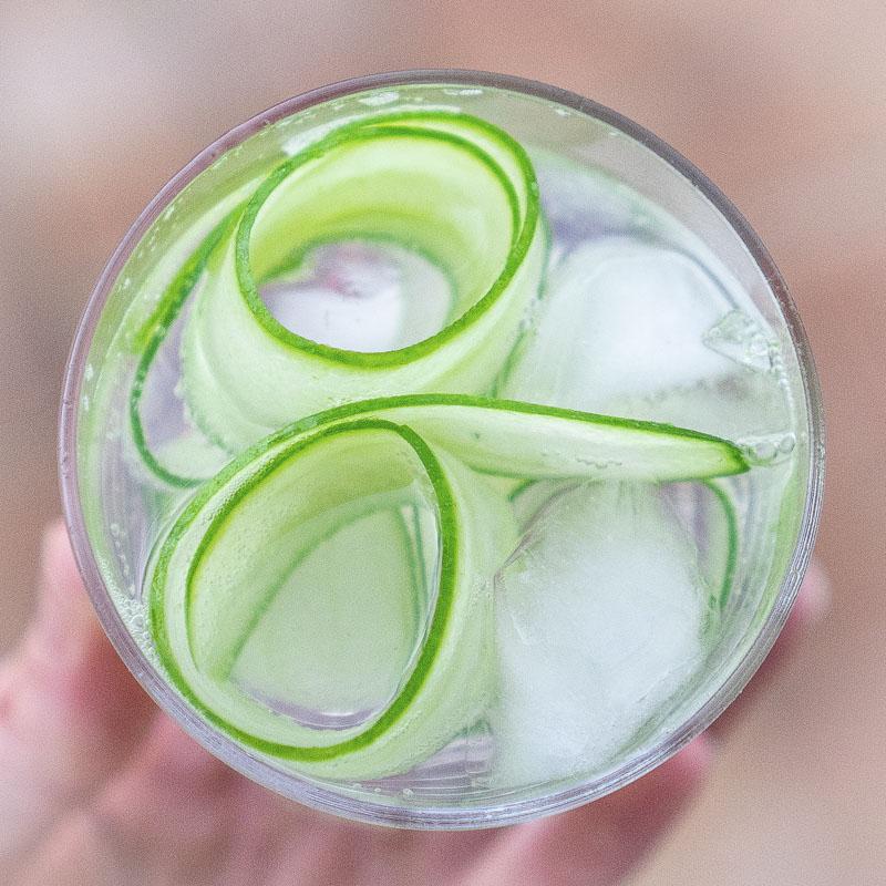 Cucumber Alt Gin & Tonic